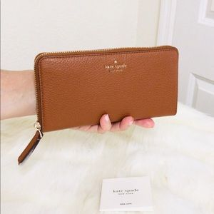 New💃Kate Spade jackson large continental wallet